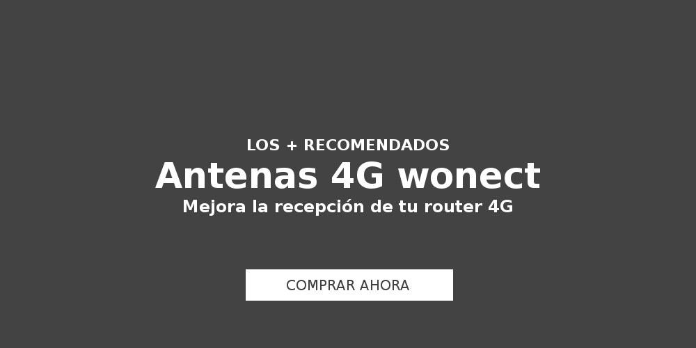 Antenas 4G Wonect