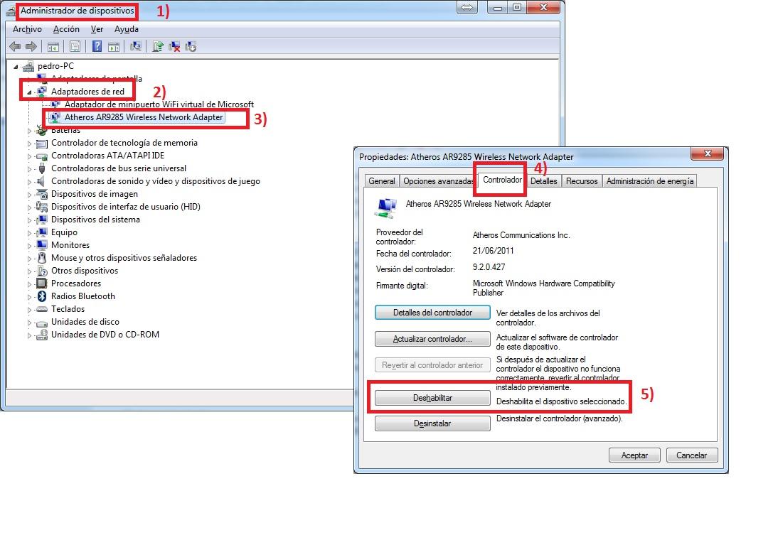 como actualizar los controladores de tarjeta de video windows 7