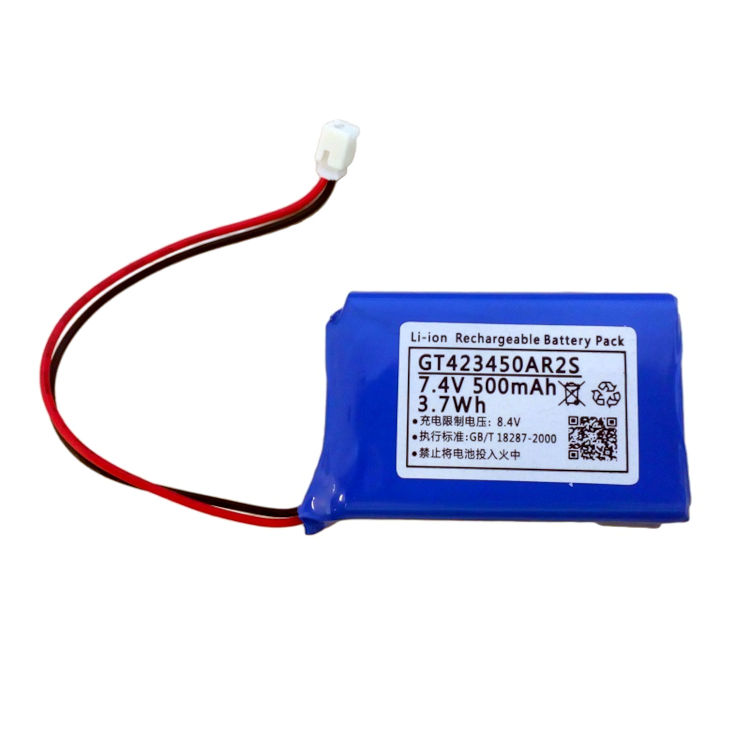 Bateria interna recargable para centrales alarma 7.4v 500mah
