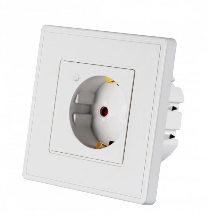 Enchufe de pared WiFi EU APP Tuya Smart 16WSE