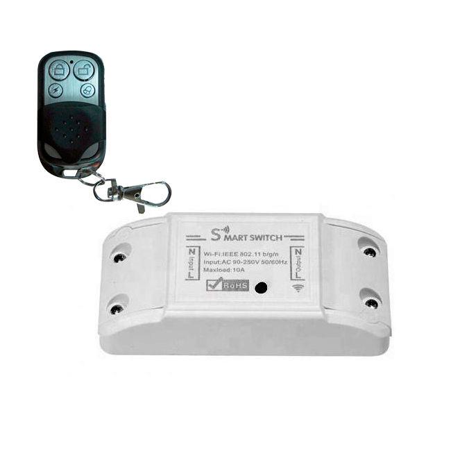 Interruptor WiFi 1 Canal Mando a distancia RF 433Mhz