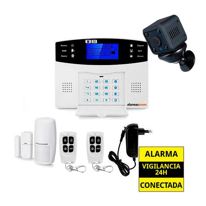 Kit de alarma anti okupas sin cuotas camara de vigilancia