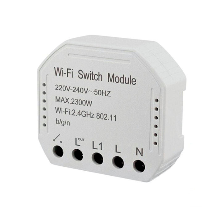 Modulo WiFi Interruptor 1 Canal Tuya Smart