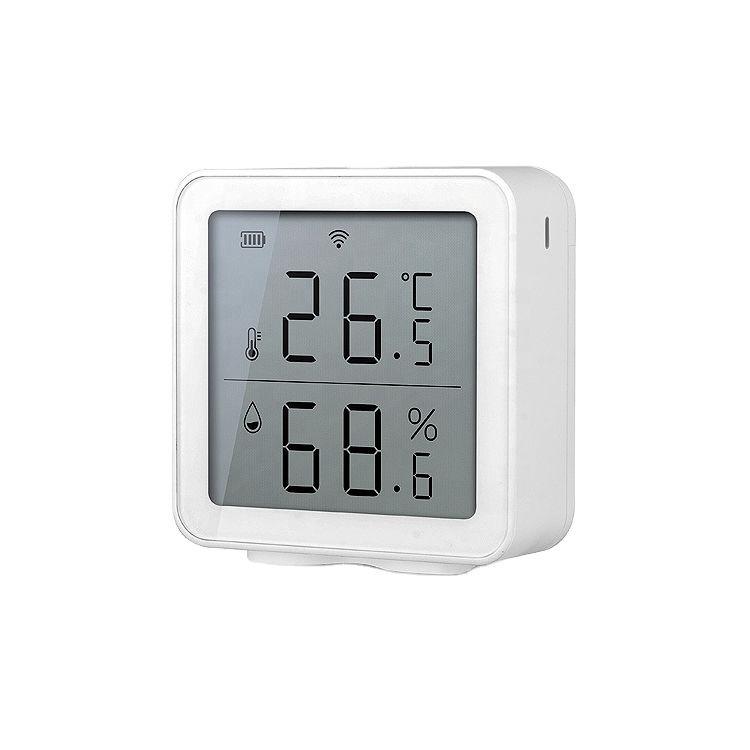 Sensor temperatura y humedad WiFi compatible Tuya Smart TY191