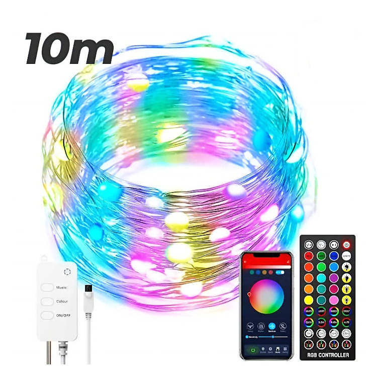 Tira led WiFi Bluetooth Tuya Smart 10 metros