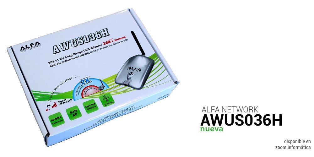 Alfa network AWUS036H 2DBI R