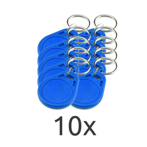 10 Llaves identificacion RFID control de accesos