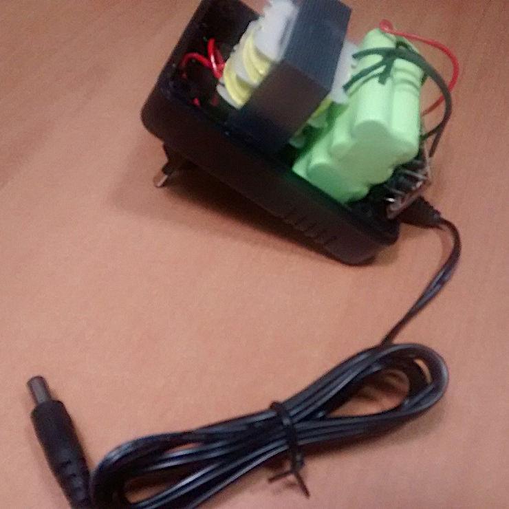Otros Adaptador corriente con bater