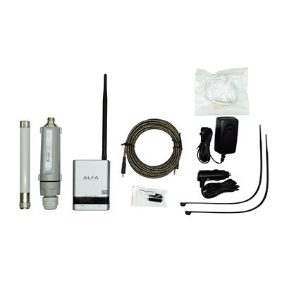 Kits WIFI Alfa network 4G Camp Pro 2