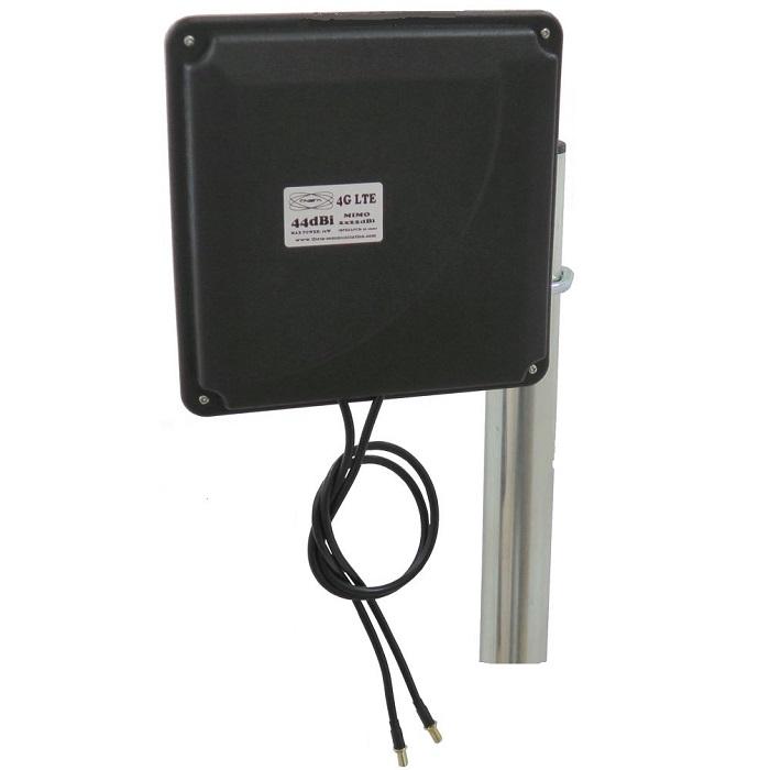 Theta PANEL 4G 44DBI NEGRA panel 4G 44dBi negra THETA Antena 4G 44dbi LTE UMTS 3G exterior panel negra