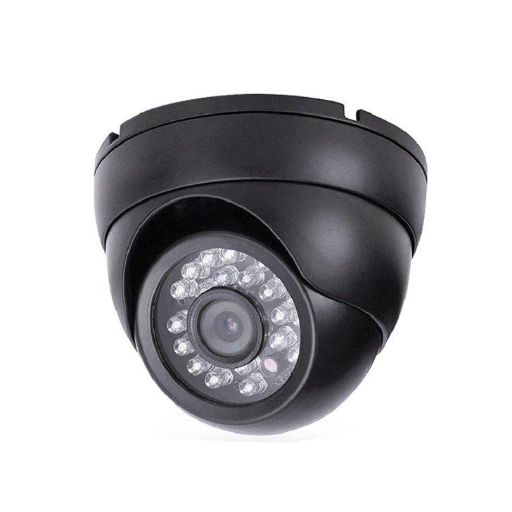 Camara CCTV AHD301A Domo Techo Negra Interior AHD Seguridad 720p HD