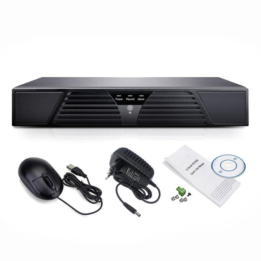 OTROS AHR004 Grabador DVR camaras 4 canales CCTV  AHD/CVI/TVI/CVBS/IP