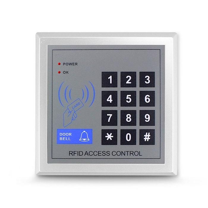 Teclado control accesos mediante codigo o tarjeta proximidad ASC01N