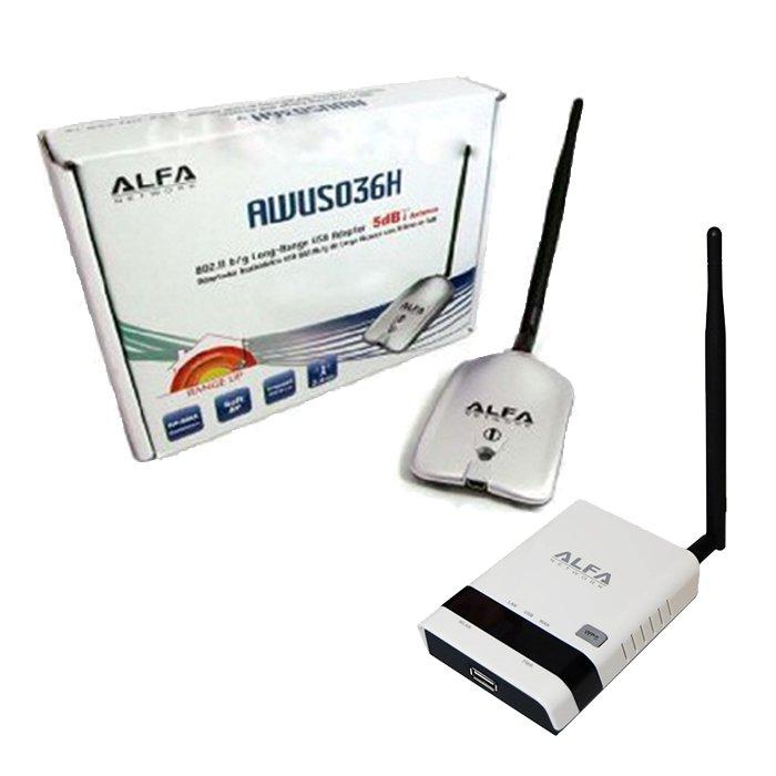 Alfa Network ALFA R36 AWUS036H V5 ALFA R36 AWUS036H V5 ALFA NETWORK repetidor de senal wifi ALFA R36 AWUS036H USB amplificador para chipset realtek