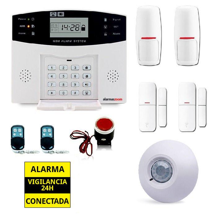 alarmas-zoom AZ028 DP 500 13 ALARMAS PARA CASAS SIN CUOTAS GSM AZ028 PACK 13