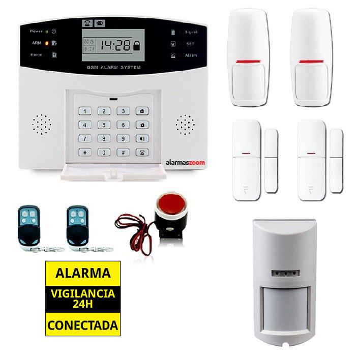 Kit alarma casa Detector de movimiento exterior antimascotas AZ028 16