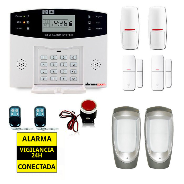 alarmas-zoom AZ028 DP 500 17 ALARMAS PARA CASAS SIN CUOTAS GSM AZ028 PACK 17