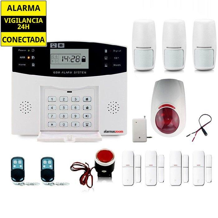 KITS ALARMAS SIN CUOTAS alarmas-zoom AZ028 DP 500 5