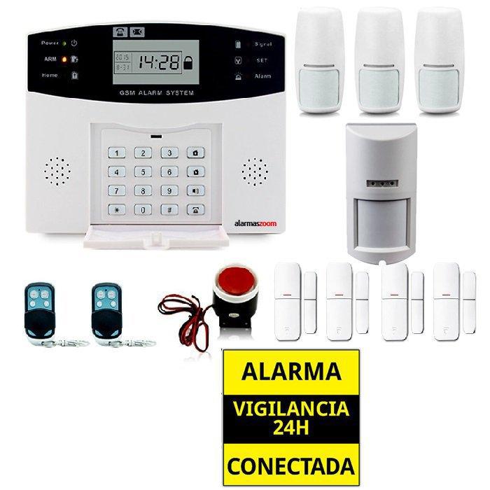 Kit alarma casa Detector de movimiento exterior antimascotas AZ028 15