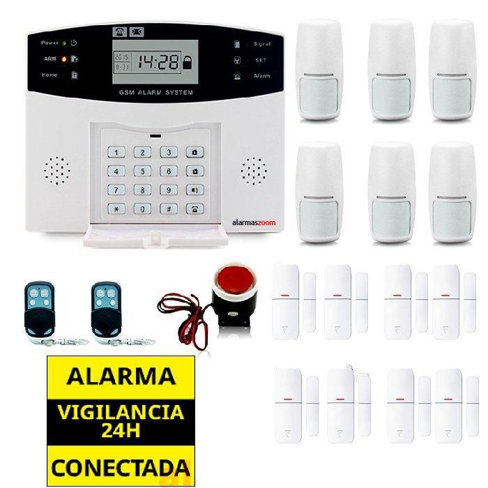 Kit alarma casa 8 Sensores apertura puertas y ventanas AZ028 4