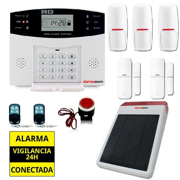 KITS ALARMAS SIN CUOTAS alarmas-zoom AZ028 DP 500 18