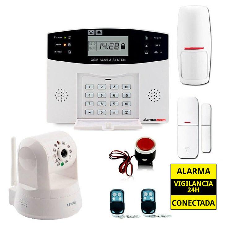 Kit alarma casa con camara interior AZ028 7