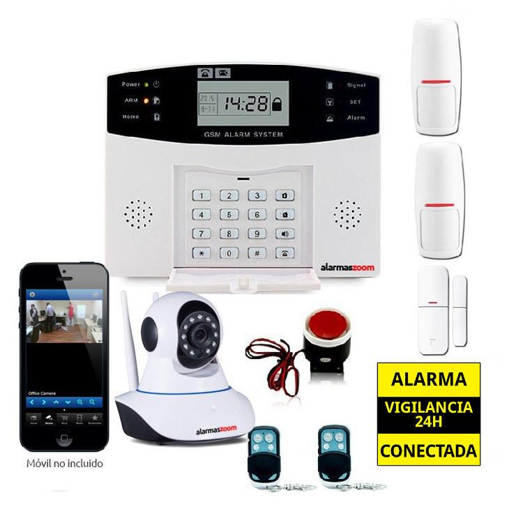 KITS ALARMAS SIN CUOTAS alarmas-zoom AZ028 DP 500 10
