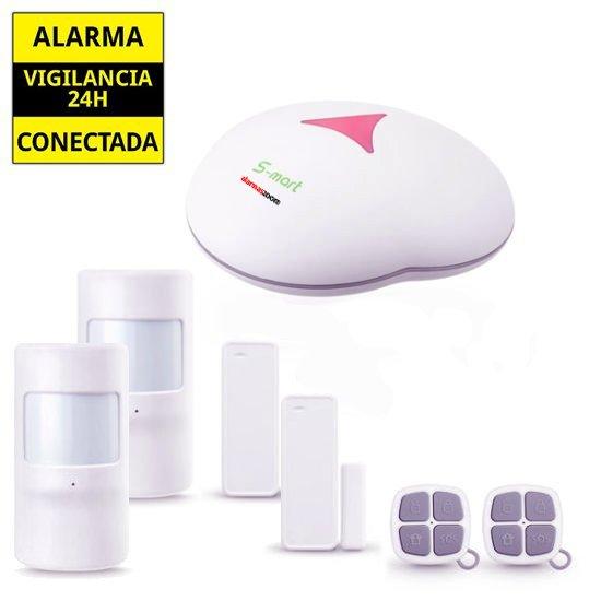 Alarma Hogar GSM sin cuotas 2 Sensores de movimiento Kit AZ0GS3 1