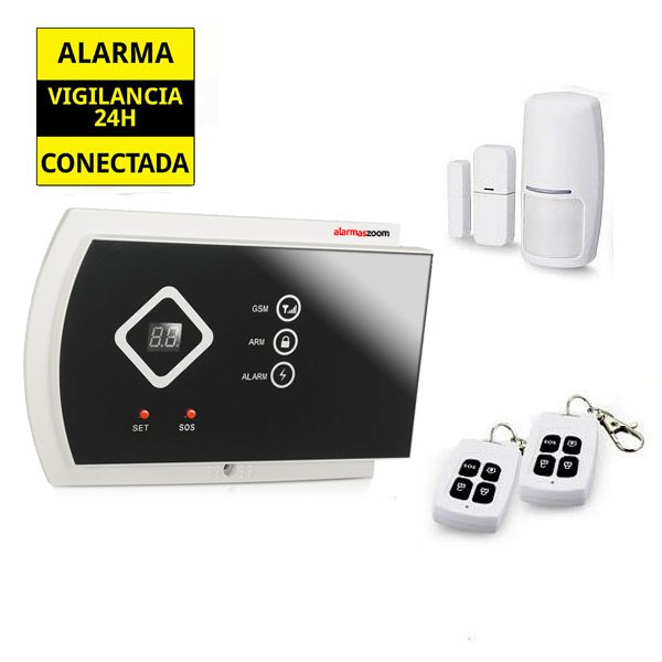 Alarma Hogar AZ016 GSM Sistema de seguridad para casa sin cuotas