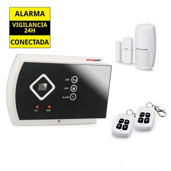 Alarmas-zoom AZ016 G10A AZ016 G10A alarmas-zoom ALARMA GSM HOGAR INALAMBRICA G10A PANTALLA LED CON APP MANEJO REMOTO SEGURIDAD