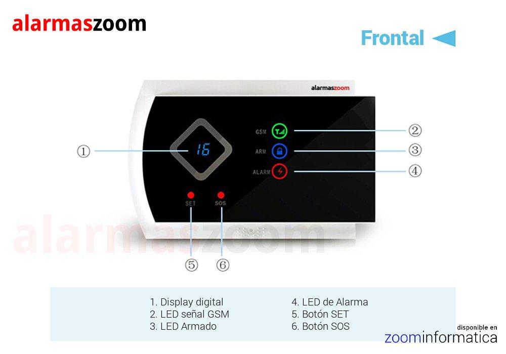 Alarmas-zoom AZ016 G10A 5