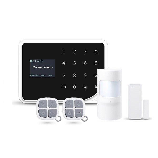 Alarma para casa WiFi AZ036 Conexion WiFi GSM Sin Cuotas APP Movil