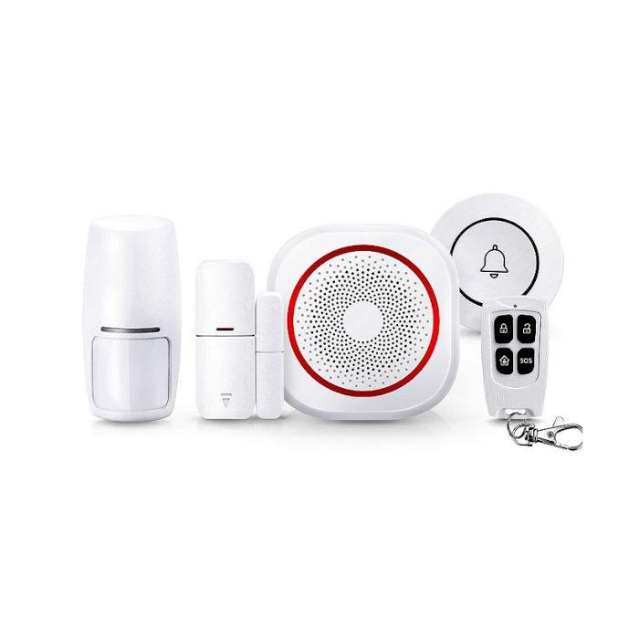 Alarma para casa WiFi Tuya Smart con sirena integrada H3