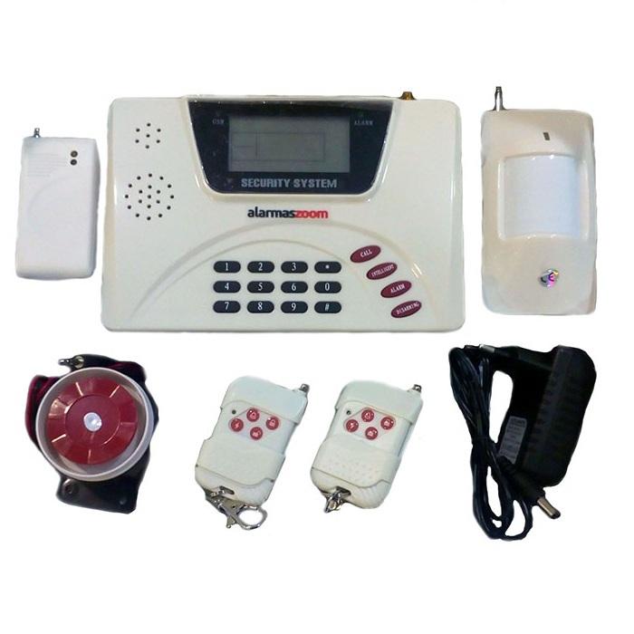 Alarma Hogar AZ005 GSM Linea Fija Sin Cuotas Security System