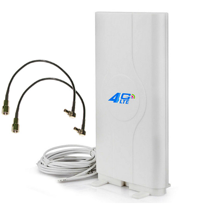 Antena 4G Theta LF ANT4G01 Dual Mimo LTE 49dBi Conectores CRC9 Cable 5 Metros