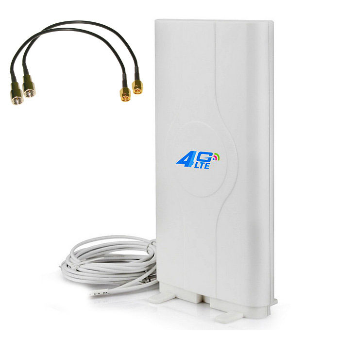 Antena 4G Theta LF ANT4G01 Dual Mimo LTE 49dBi Conectores SMA Cable 5 Metros