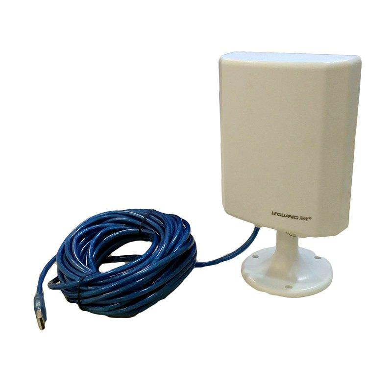 Leguang LG N130 Antena WiFi Exterior 10 metros cable USB Ralink RT3070