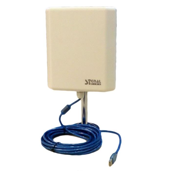 Signal King SK 13TG Antena WiFi Cable USB 5 metros Realtek 8187L Soporte metalico