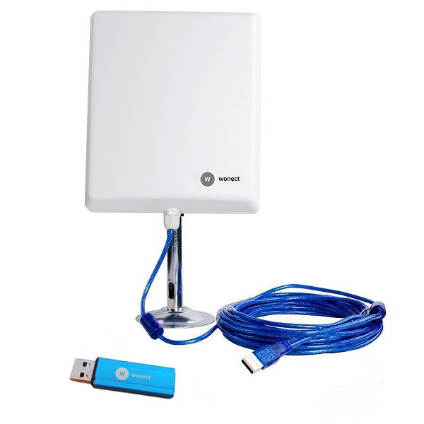 Wonect N4000A Antena WiFi USB 10 metros Amplificador PW915