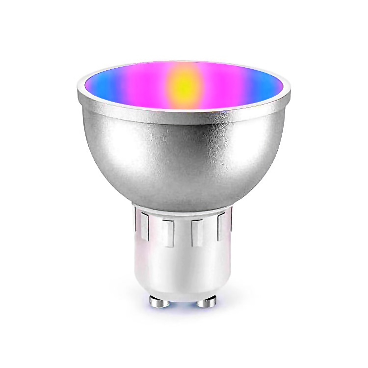 Bombilla WiFi RGB compatible Tuya Smart Amazon Alexa Google Home GU10 5W