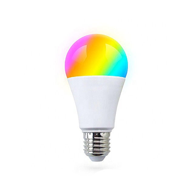 Bombilla led WiFi RGB compatible Amazon Google Home E27 9W