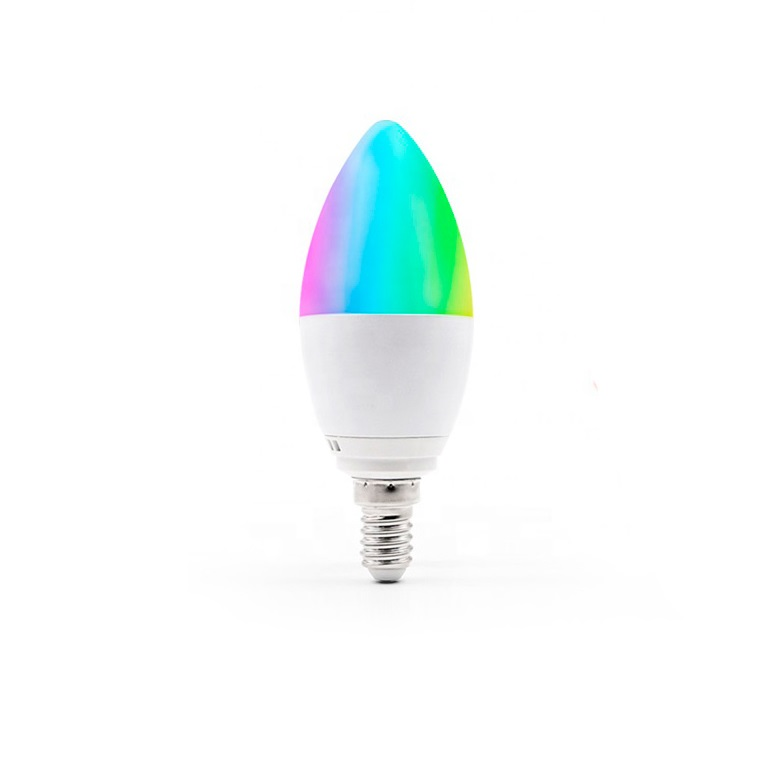 Bombilla led Smart Home WiFi Tuya Smart WiFi RGBCW 5W E15