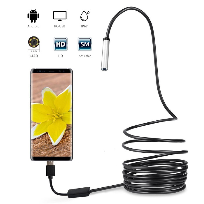 OTROS Camara endoscopica USB 5m