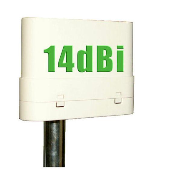 Antena 5Ghz CPE 14dBi 200Mw Exterior PoE