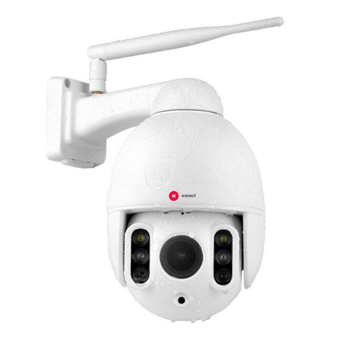 Wonect K64A Camara exterior IP WiFi Zoom 4x Digital 4x Optico Vision nocturna 50 metros