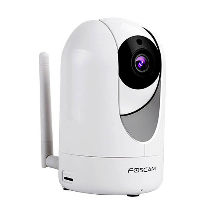 Foscam R2 Camara IP Full HD interior motorizada Vision nocturna Color Blanca