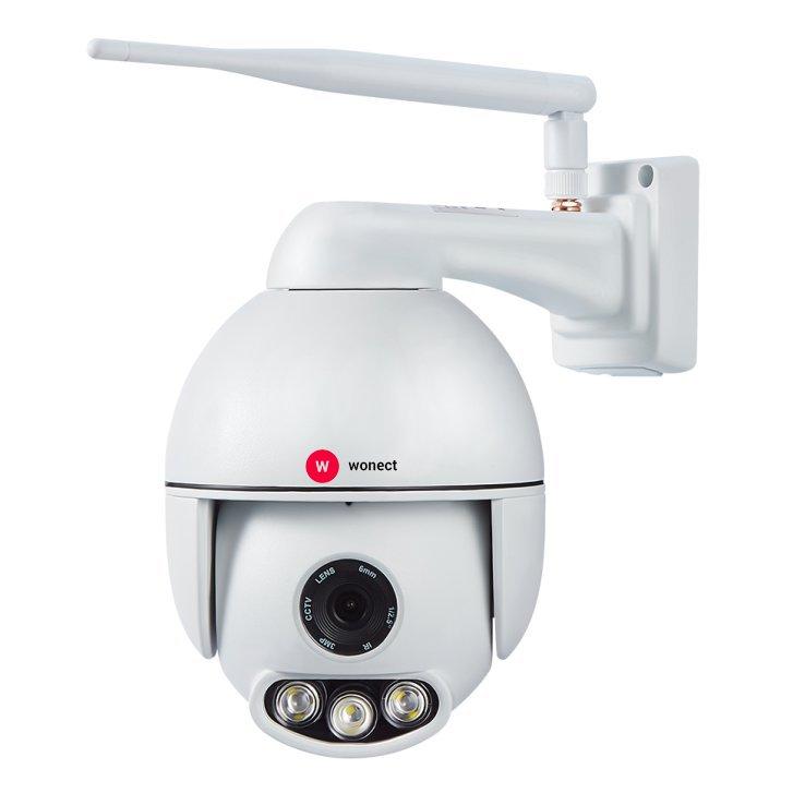 Wonect K54 Camara exterior IP WiFi PTZ Sonido Zoom Digital Metalica
