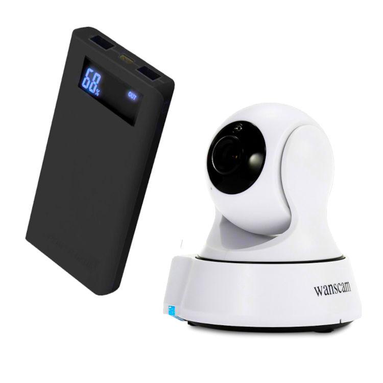 WONECT Camara vigilancia coche con bateria