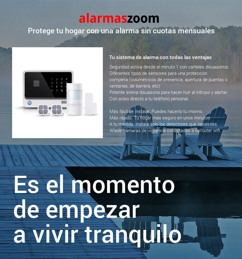 Alarmas-zoom AZ011  TEL99E