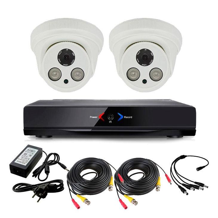 CAMARAS DE SEGURIDAD CCTV OTROS DVR CCTV 2 CAMARAS INTERIOR